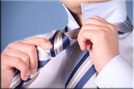 Как завязывать галстук? Фото и видео