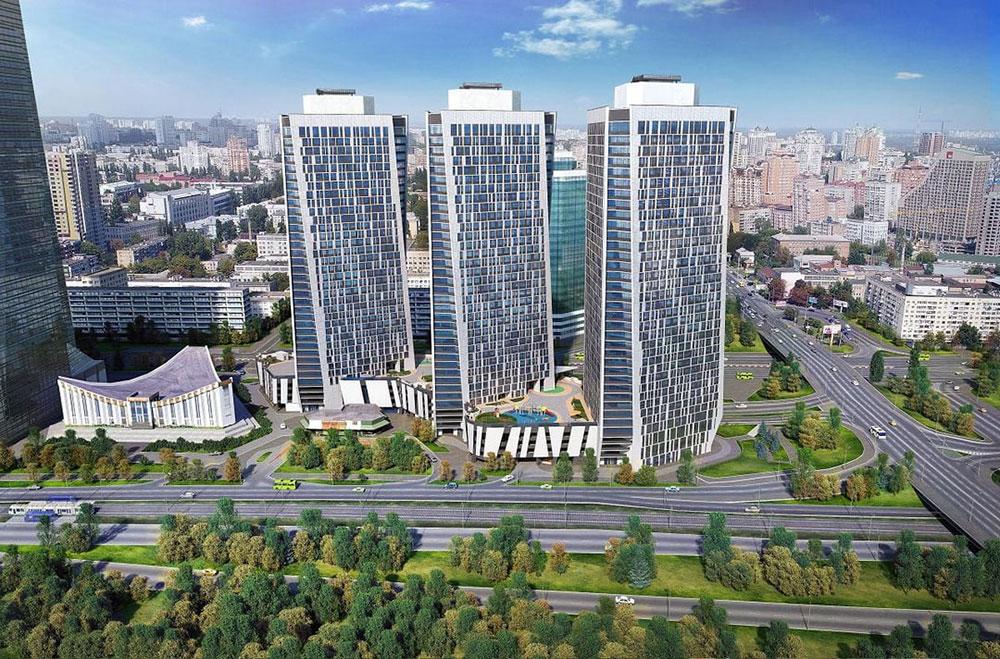 ЖК «Manhattan city» - элитная недвижимость в центре Киева (Победы 11Б). Обзор, планировки, цены, фото