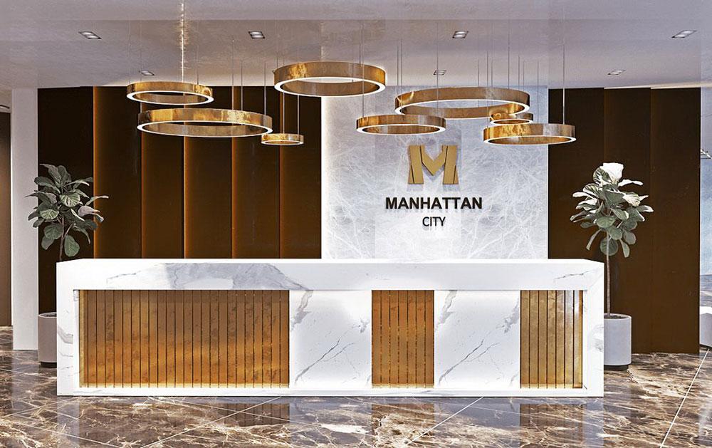 ЖК «Manhattan city» - рецепция