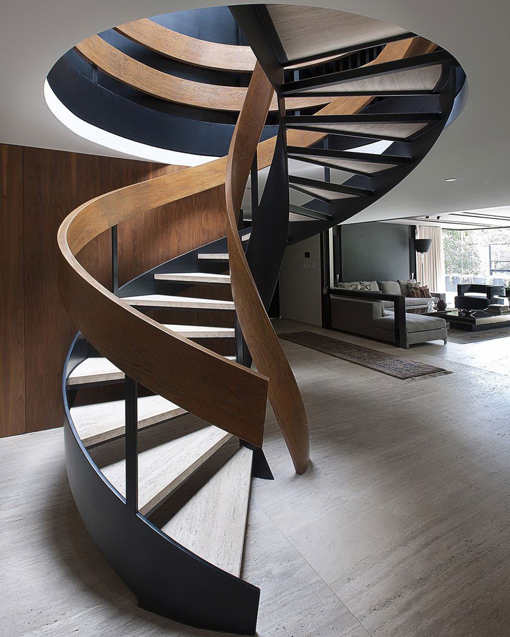 8. Винтовая лестница