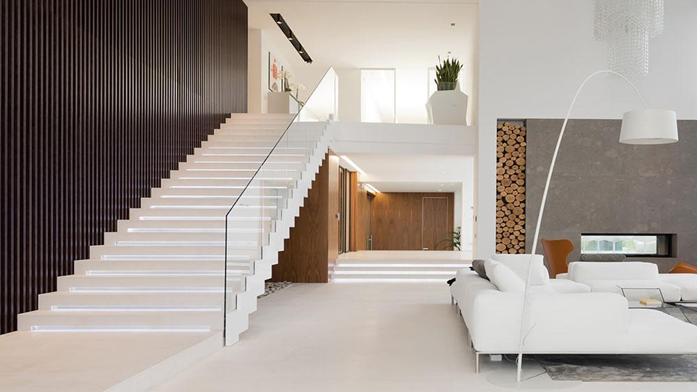 Лестницы в доме на второй этаж - красивые дизайн-проекты