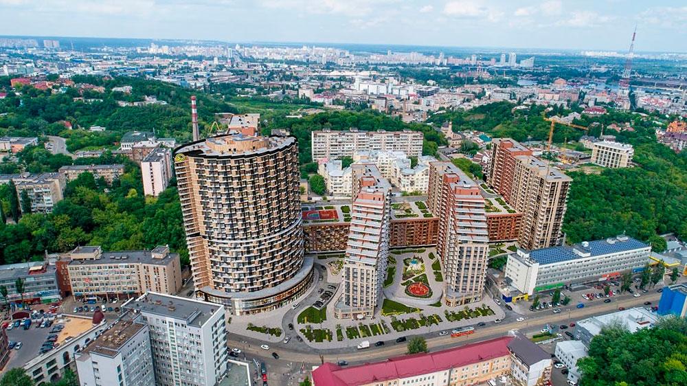 ЖК «Mirax» (Киев) – с прицелом на бизнес non-stop. Обзор, планировки, цены, фото