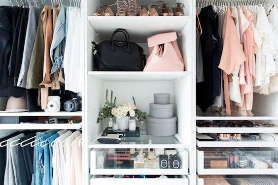 Уборка дома - убирайте вещи по категориям