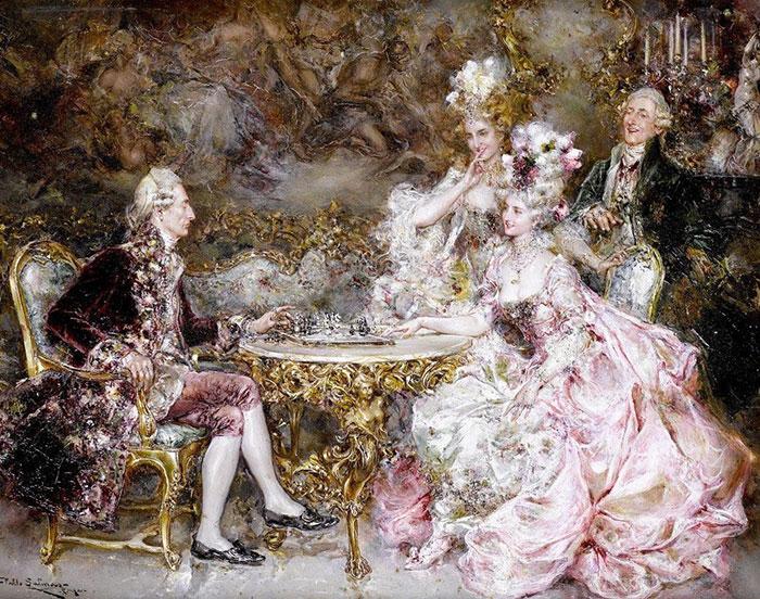 Следует обратить внимание на картины, которые выполнены в стиле барокко